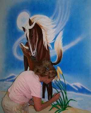 אודות תמיקה ציורי קיר