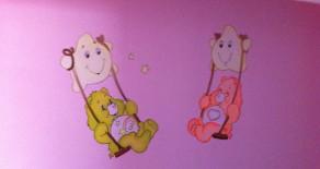 ציור קיר בגן דובוני אכפת לי