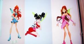 ציורי קיר לבנות שאוהבות בובות בראץ