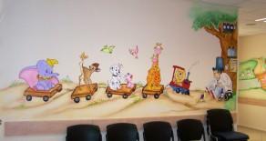 ציורי קיר בקליניקות וקופות חולים