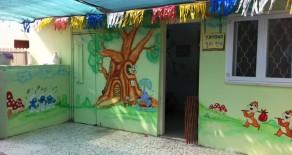 ציורי קיר בגן טיף וטף