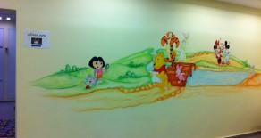 ציורי קיר בטיפת חלב