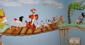 """ציורי קיר """"סיפורי גשרים"""""""