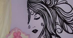 ציורי קיר לנערות ומתבגרות